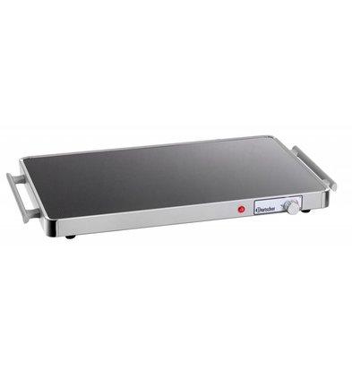 Bartscher Elektrische Warmhoudplaat - Glas - 1/1 GN - 57x31x(h)4cm