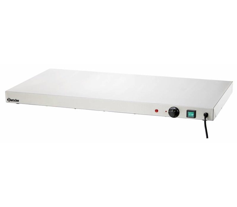 Bartscher Elektrische Kochplatte - Edelstahl - 90x45x (h) 6.5cm