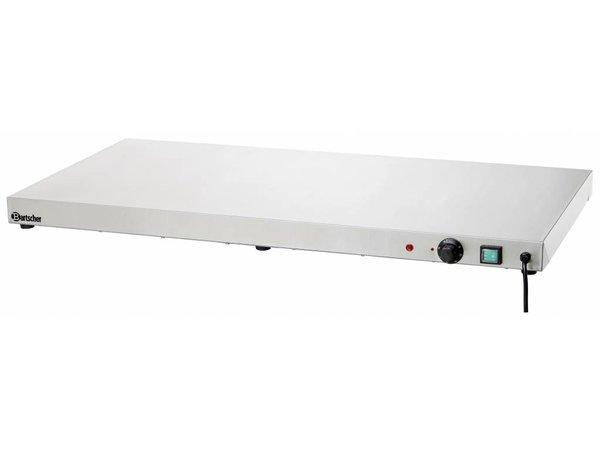 Bartscher Elektrische Kochplatte - Edelstahl - 100x50x6cm