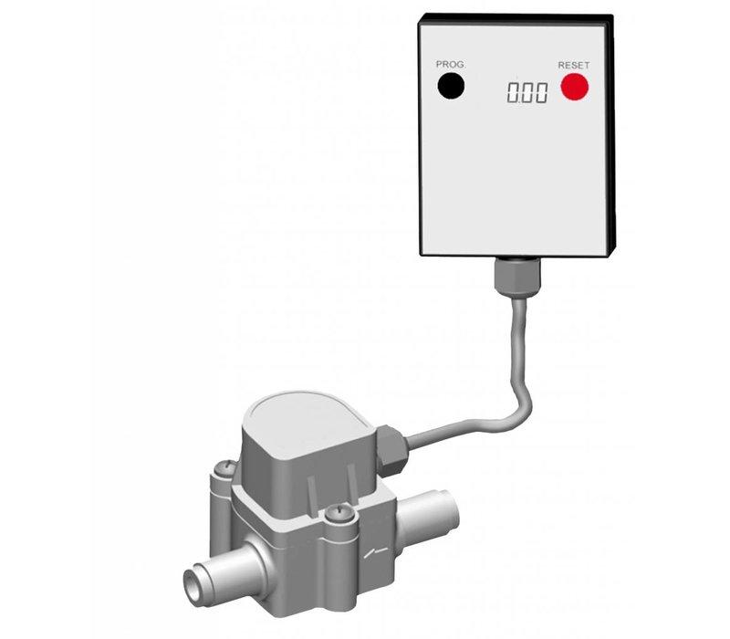 Bartscher Wasserzähler | Ideal für die Verwendung mit einem Wasserfilter / Weichmacher