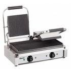 Bartscher Elektrische Doppelkontaktgrill - Grillplatten gerillt - 57x37x (h) 20 - 3600W