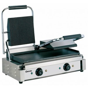 Bartscher Electric double contact grill - 57x37x (h) 20 - 3600W