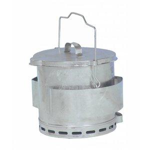 Bartscher Frittierfett Relief Eimer   Inhalt 12 Liter   Ø280x (H) 400mm