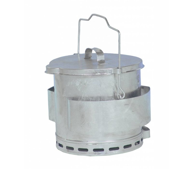 Bartscher Frying fat Relief Bucket | Content 12 Liter | Ø280x (H) 400mm
