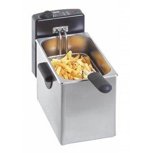 Bartscher Fryer Basic | 4 Liter | 2,2 kW | (B) 200x (D) 400x (H) 280 mm