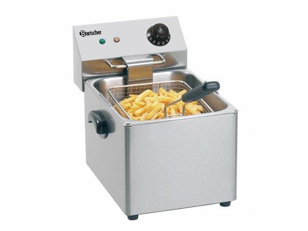 Bartscher Pro Fryer | 8 Liter | 3,25kW | 265x430x (H) 340mm