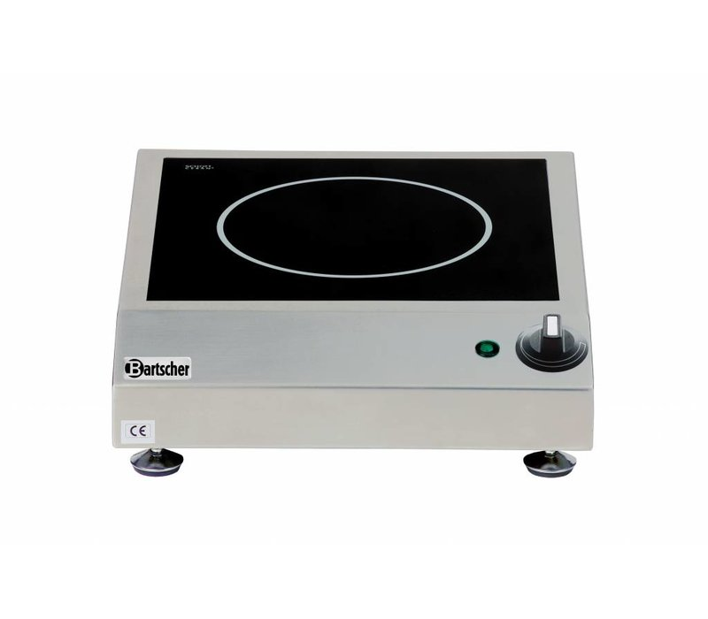 Bartscher Table top induction stove with 1 cooking zone