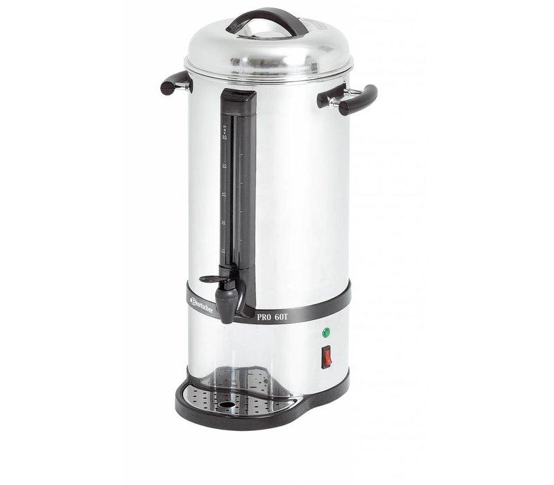 Bartscher Stainless Percolator | Mit Cup Serien- | Ø220x (H) 545mm | 72 Cups | 9 Liter