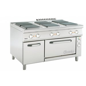 Bartscher 6 Electrical Cooking Series 900 | 400V | 1350x900x (H) 850-900mm