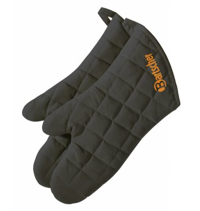 Bartscher 1 pair of ovengloves / safety gloves, length 38 cm