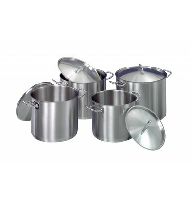 Bartscher Cookware set - 4 pots with lid