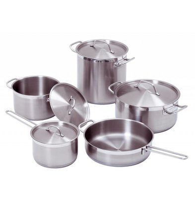 Bartscher 9-piece cookware set - XXL OFFER
