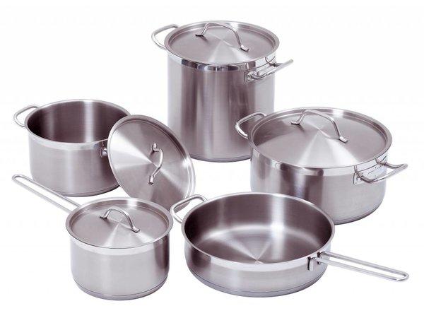 Bartscher 9-piece cookware set - XXL OFFER