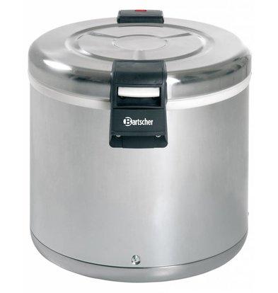 Bartscher Rijstverwarmer RVS - Anti-aanbak - Extra Grote Greep - 8,5 kg Rijst