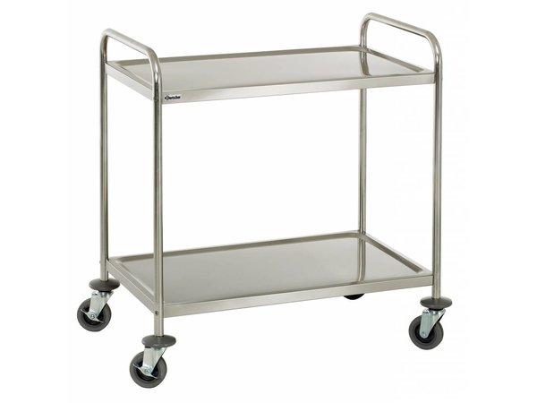 Bartscher Serving trolley - 2 blades - 920x600x945mm - 100Kg