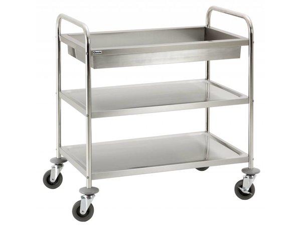 Bartscher Carts - 2 sheets - 1 afruimbak - 930x600x (h) 990mm - 120Kg
