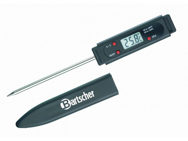 Bartscher Digitale Kernthermometer Insteekthermometer RVS | -50 °C tot +150 °C (-58°F tot +302°F)