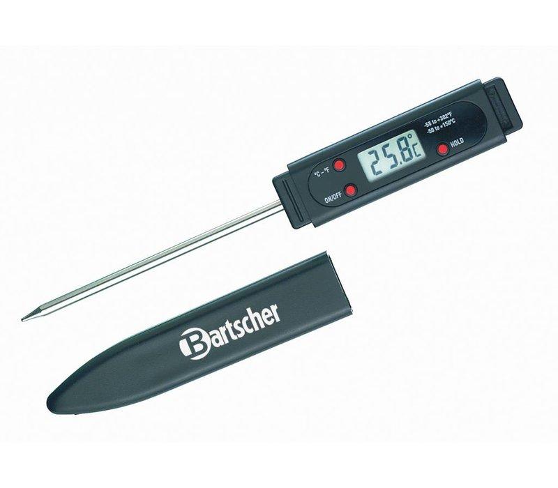 Bartscher Digital probe thermometer Plug SS   -50 ° C to +150 ° C (-58 ° F to + 302 ° F)