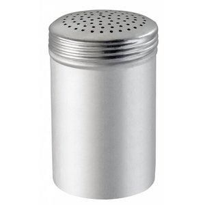 Bartscher Salt spreader with screw lid | Aluminium | 6 pieces per box | Ø65x (H) 110mm