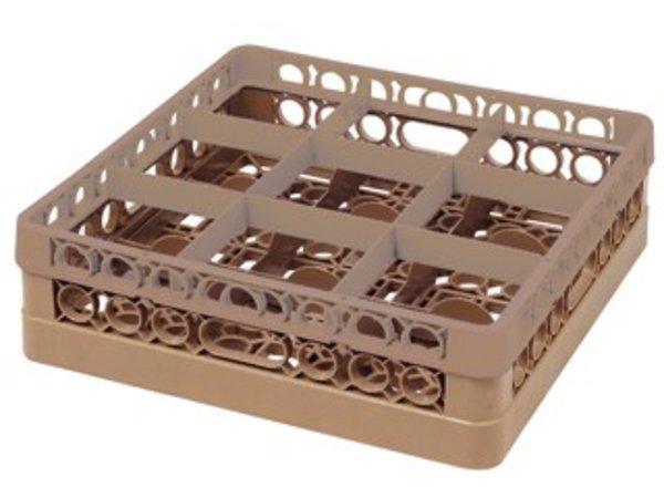 Bartscher Dishwasher basket 9 compartments