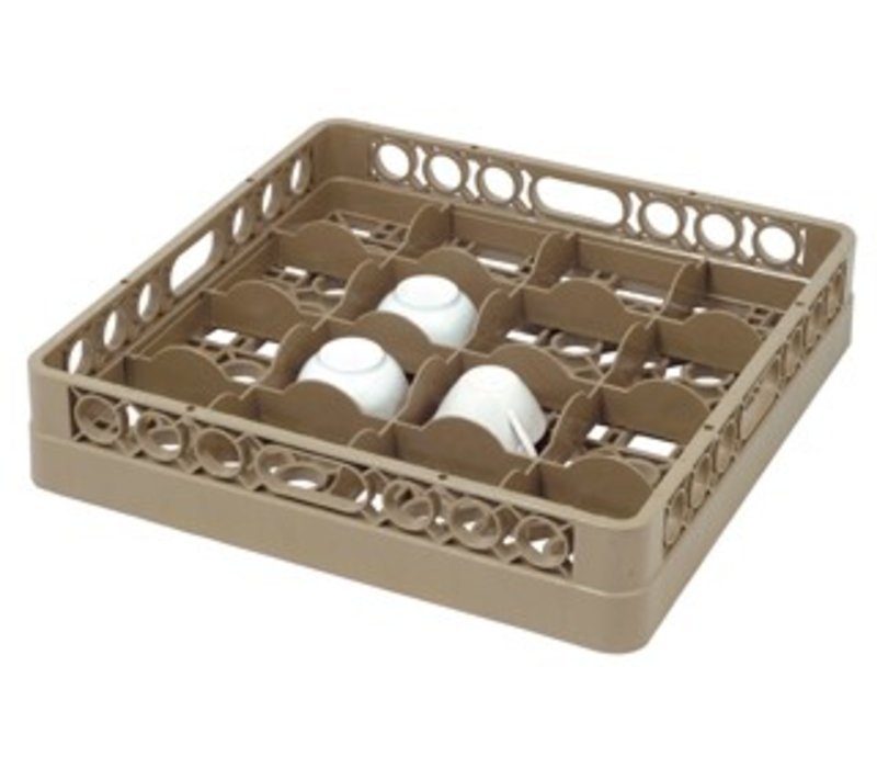 Bartscher Dishwasher basket 16 compartments