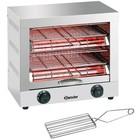Bartscher Toaster / Quartz gratineeroven, with double timer switch - 44x26x (H) 40cm -3000W
