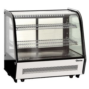 Bartscher Refrigerated display case - 120 liters - 71x57x (h) 68cm