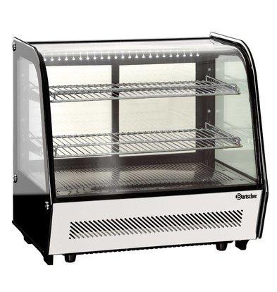 Bartscher Refrigerated display case - 120 liters - 71x57x (h) 68cm