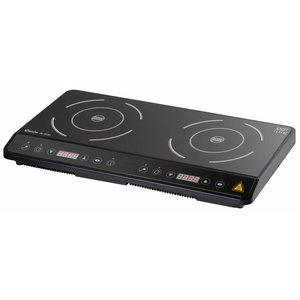 Bartscher Inductie-kookplaat IK 35dp - 3500W / 230 V - 60,5xD36x(h)60