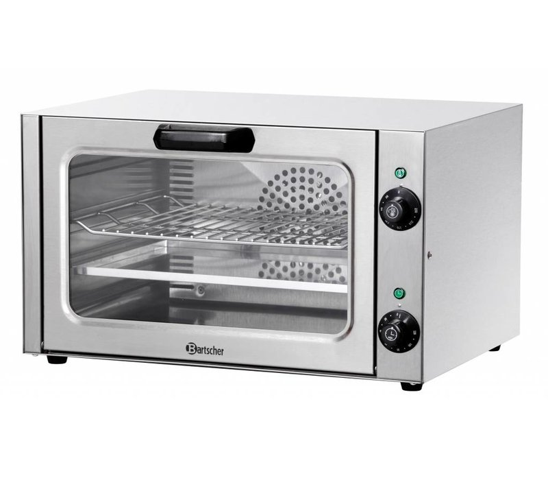 Bartscher Mini Fan oven - 527x450x316 (h) mm - Binnenafm: 404x308x254 (h) mm
