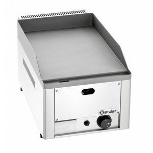 Bartscher Elektrische Kochplatte - Gusseisen / Smooth - 32x54x (h) 29 cm - 3 kW