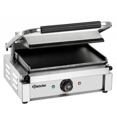 "Bartscher Contact-grill ""Panini"" - Glad/Glad - 41x37x(h)20 - 2200W"