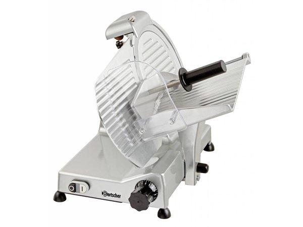 Bartscher Professionelle Aluminium Meat Slicer | 230 | 380W | 480x595x450 (H) mm