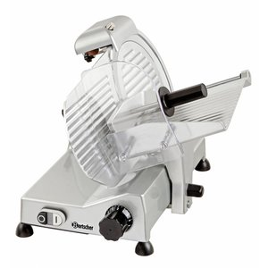 Bartscher Professional meat slicer   230V   240W   Diameter 250mm   430x510x375 (H) mm