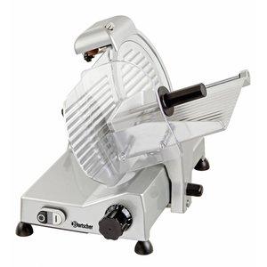 Bartscher Professionelle Schneidemaschine   230   240W   Durchmesser 250mm   430x510x375 (H) mm