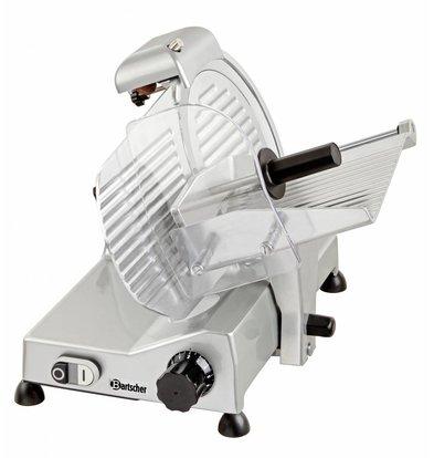 Bartscher Professionelle Schneidemaschine | 230 | 240W | Durchmesser 250mm | 430x510x375 (H) mm
