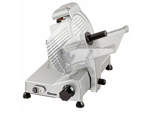 Bartscher Schneidemaschine   Aluminium   240W   Ø220mm   410x475x360 (H) mm