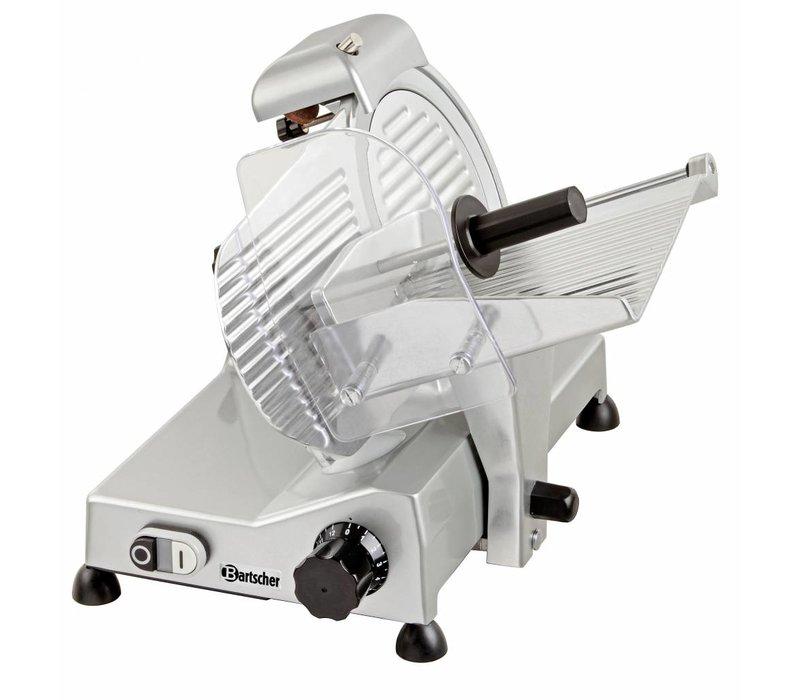 Bartscher Meat slicer   Aluminium   240W   Ø220mm   410x475x360 (H) mm