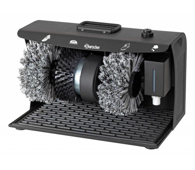 Bartscher Shoe shine machine SUPER DELUXE   3 Brushes   with Handle   400x240x260 (h) mm