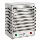 Bartscher Rechaud - 8 Blatt - Aluminium - 1250W - 380x250x (H) 447 mm