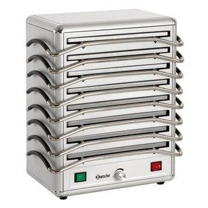 Bartscher Rechaud - 8 sheets - Aluminium - 1250W - 380x250x (H) 447 mm