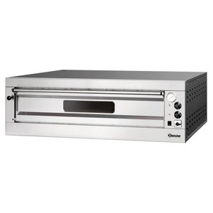 Bartscher Pizza Oven Electric Single | 9 Pizzas 33cm | 400V | 12kW | 1310x1270x (H) 420mm