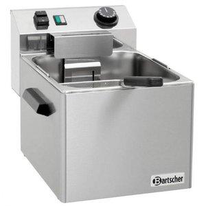 Bartscher Electric Pasta Cooker SNACK | Stainless steel | 7 Liter | 3,4kW | 230V | 270x420x (H) 300mm