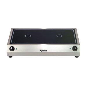 Bartscher Keramisch Elektrisch Kooktoestel   6 kw   700x455x(H)120 mm
