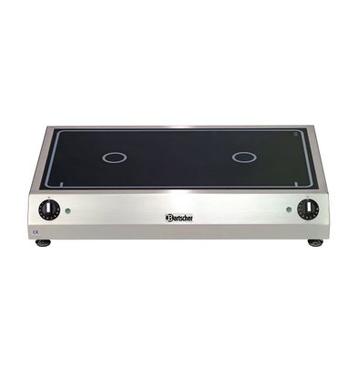 Bartscher Ceramic Electric Cooker | 6 kw | 700x455x (H) 120 mm