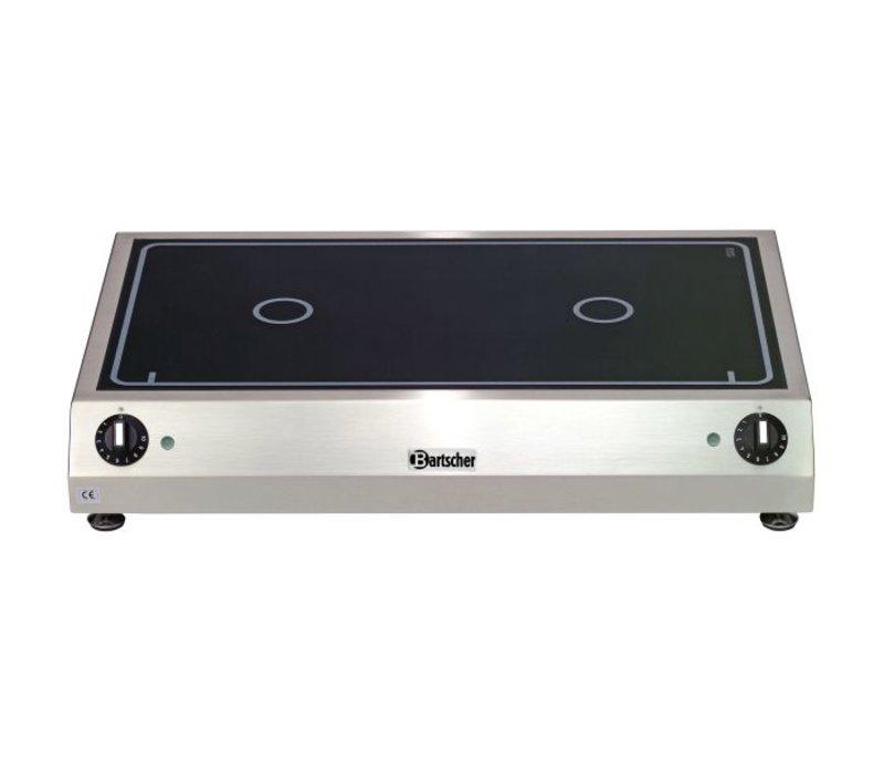 Bartscher Keramisch Elektrisch Kooktoestel | 6 kw | 700x455x(H)120 mm