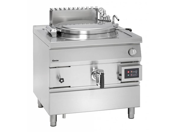 Bartscher Gas Kookketel Indirecte Verhitting - 150L - 900x900x(h)850-900mm - 21KW