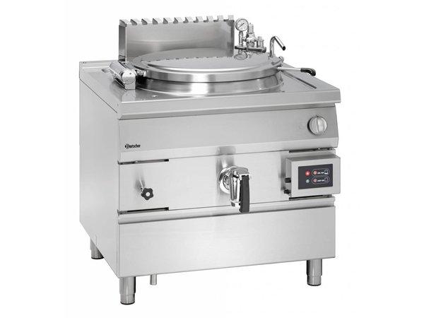 Bartscher Gas Kookketel Indirecte Verhitting - 100L - 900x900x(h)850-900mm - 21KW