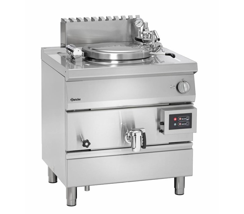 Bartscher Gas Indirect Boiling Pan Heating - 55L - 800x700x (h) 850-900mm - 15.5KW