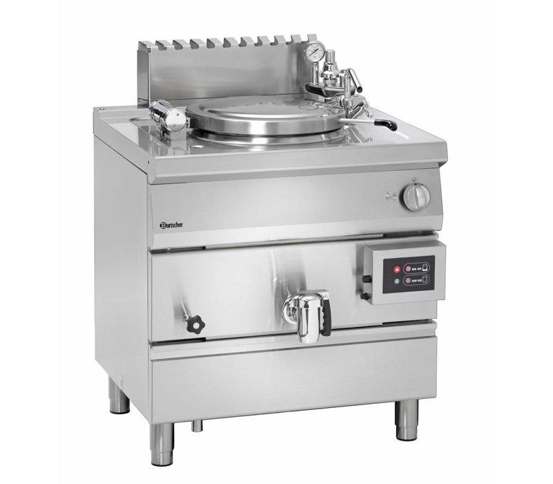 Bartscher Gas Kookketel Indirecte Verhitting - 55L - 800x700x(h)850-900mm - 15.5KW